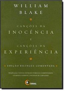 Cancões Da Inocência E Canções Da Experiência  - Edição Bilíngue Comentada