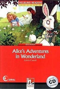 Alices Adventures In Wonderland - With CD - Beginner