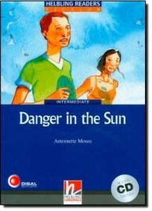 Danger In The Sun With CD - Intermediate