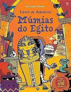 MÚMIAS DO EGITO - LIVRO DE ADESIVOS