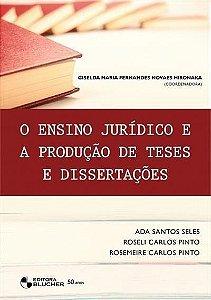 O Ensino Jurídico E A Produção De Teses E Dissertações