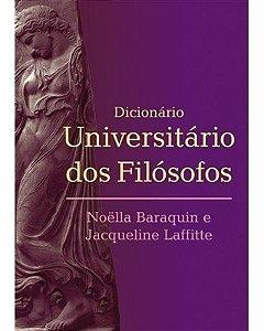 Dicionário Universitário Dos Filósofos