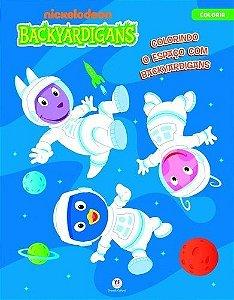 Backyardigans - Colorindo O Espaço Com Backyardigans