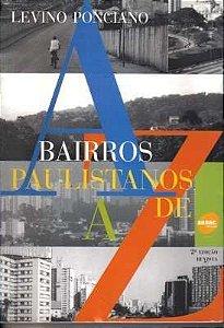 Bairros Paulistanos De A A Z
