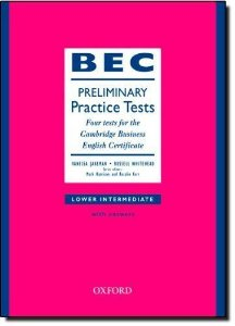 BEC Practice Tests Preliminary: Book With Answers