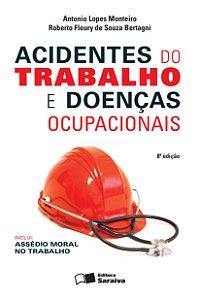 Acidentes Do Trabalho E Doenças Ocupacionais - 8 ED