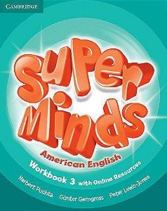 Super Minds American English Level 3 Workbook