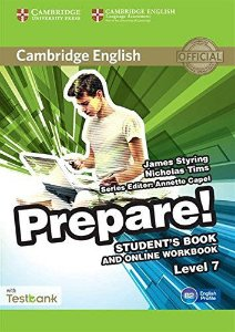 Cambridge English Prepare! Student's Book And Online Workbook Level 7