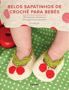 Belos Sapatinhos De Crochê Para Bebês