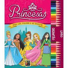 Princesas - Coleção Livro Gigantão
