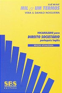 Vocabulário Para Direito Societário - Português/Inglês