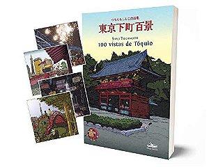 100 Vistas De Tóquio + 4 Cartões-postais