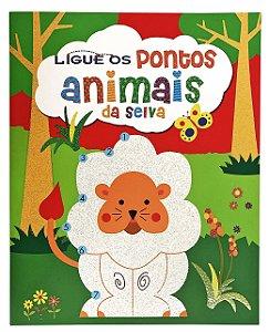Ligue os Pontos: Animais da Selva: 03