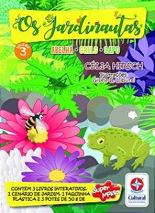 Os Jardinautas Vol. 3 - Grilo, Sapo, Abelha