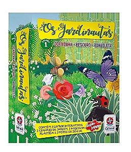 Os Jardinautas Vol. 1 - Joaninha, besouro e borboleta