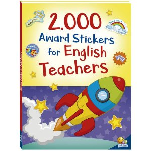 2000 award stickers for english teachers
