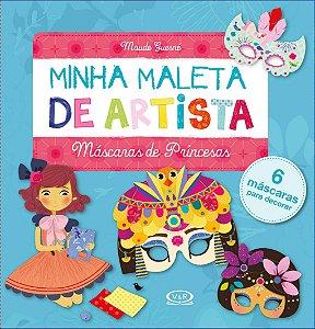 MINHA MALETA DE ARTISTA: MÁSCARAS DE PRINCESAS