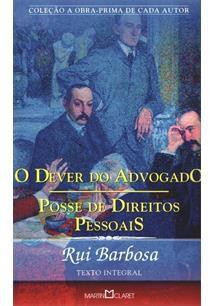 O DEVER DO ADVOGADO: POSSE DE DIREITOS PESSOAIS - 3ªED.(2012)