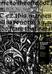 William Morris - Sobre as Artes do Livro: 13