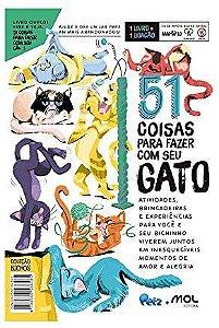 Livro Petz 51 Coisas para Fazer com seu Cachorro/Gato