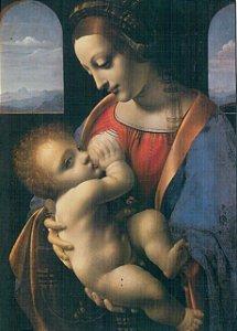 Cartão Madonna Litta