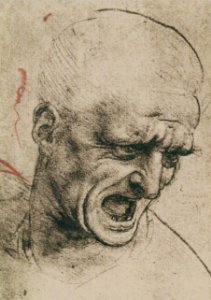 Cartão Drawing from the period of the Battle of Anghiari