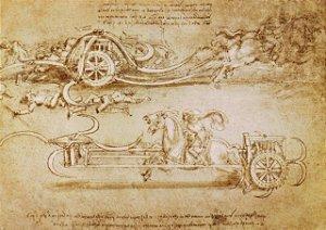 Cartão Scythed Chariot