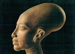 Cartão Portrait of a princess from Amarna