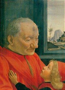 Cartão Domenico Ghirlandaio