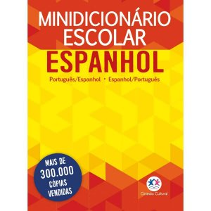 Ciranda Cultural Minidicionário escolar Espanhol (papel off-set): Português - Espanhol
