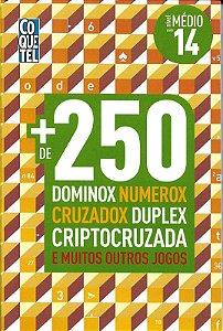 Coletânea mais de 250 Dominox, Numerox, Cruzadox, Duplex, Cruptocruzada e muitos outros Jogos