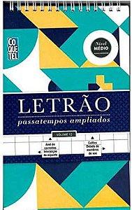 LETRÃO PASSATEMPOS AMPLIADOS - NÍVEL MÉDIO - 12