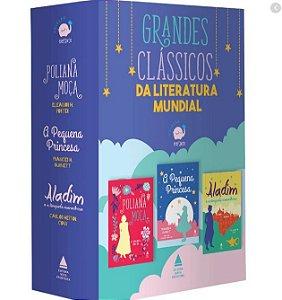 Coleção Elefante - 3 Vol (poliana Moça+a Pequena Princesa+aladin) - 1ª Ed.