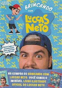 COMBO BRINCANDO COM LUCCAS NETO + LIVRO ILUSTRADO OFICIAL