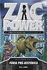 Zac Power 24 - Fúria Pré-Histórica