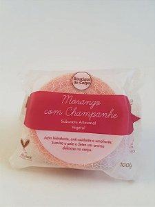 SABONETE NUTRITIVO MORANGO COM CHAMPANHE 100G