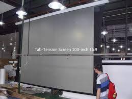 tela eletrica 150 polegadas 4x3