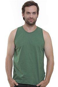 Camiseta Regata Oitavo Ato Verde Militar