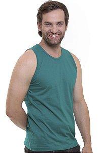 Camiseta Regata Oitavo Ato Verde Folha