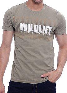 Camiseta Oitavo Ato Wildlife Verde Island