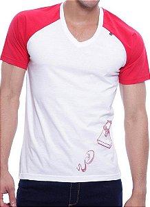 Camiseta Oitavo Ato Ratoeira Vermelho