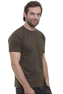 Camiseta Basica Verde Musgo