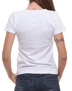 Camiseta Baby Look Oitavo Ato Mensana Branca