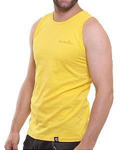 Camiseta Regata Oitavo Ato Cantareira Jeep Amarela