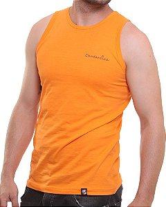 Camiseta Regata Oitavo Ato Cantareira Paraquedas Laranja