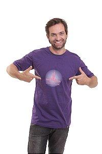 Camiseta Básica Oitavo Ato Cantareira Mensana Roxa
