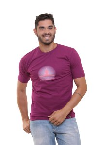 Camiseta Básica Oitavo Ato Cantareira Mensana  Uva