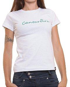 Camiseta Baby Look Oitavo Ato Cantareira Verde