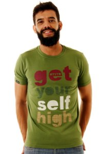 Camiseta Oitavo Ato Get Your Self Verde Boldo