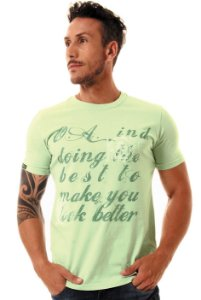 Camiseta Oitavo Ato Better Soft Green
